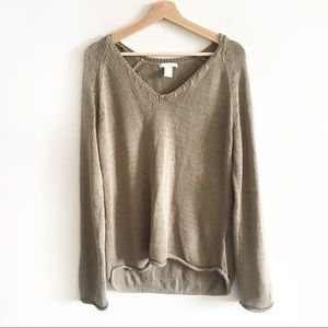 H&M slouchy knit sweater